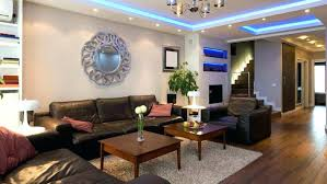 lighting for beamed ceilings. Lighting For Low Beamed Ceilings Cool Ideas Living Room With Blue In Ceiling And G