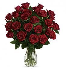 2 dozen roses arrangement
