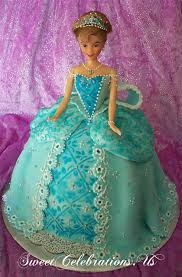 Marshmallow Fondant Doll Cake With Crystal Edible Lace Flickr