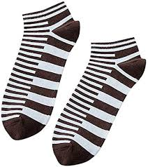 TheRang Fashion <b>Men's Four Seasons</b> Striped <b>Low Cut</b> Socks ...