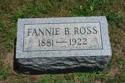 Fannie Benita Palmer Ross (1881-1922) - Find A Grave Memorial