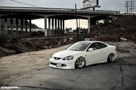 Dumped & Fitted // Jerald's Bagged Acura RSX. | StanceNation ...