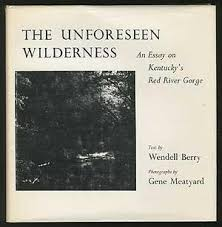 the unforeseen wilderness an essay on kentucky s red river gorge  the unforeseen wilderness an essay on wendell berry gene