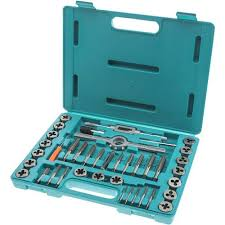 Tap And Die Set Chart 39 Pc Hss Tap Die Set Inch