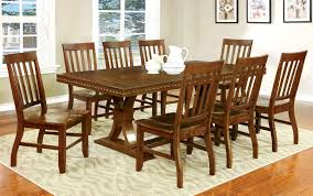 Trestle Dining Room Sets Set Up A Long Table Permanently Some Gate Leg Tables Now