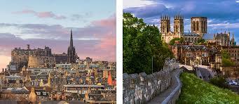 Skottlands huvudstad ligger i landets sydöstra del längs kusten. Flyg Till Skottland Med Orkneyoarna Rundresa