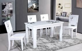 Dining Room Table And Chairs White White Dining Room Table And Chairs Design Bug Graphics