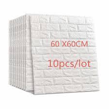 3D Brick Wall Sticker Wallpaper Decor ...