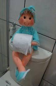 Текстильные куклы - <b>держатели туалетной бумаги</b>. Выкройки (19 ...