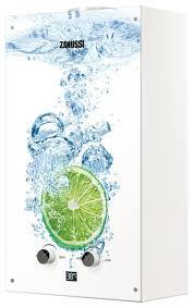 Проточный <b>газовый водонагреватель Zanussi GWH</b> 10 Fonte Gl ...
