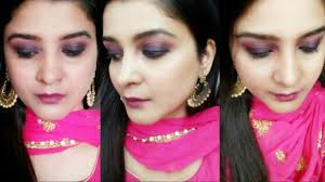 enement makeup pink pruple smokey eye party makeup wedding makeup all makeup videos