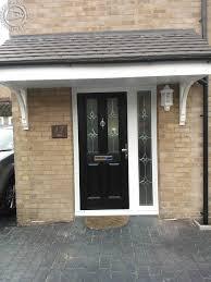front doors with side panelsBest 25 Black composite door ideas on Pinterest  Wooden steps