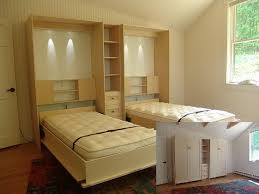 Double Size Murphy Bed Inside Twin Full Loft Design Cool Designs 14