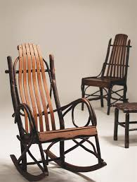 hickory big and tall rocking chair amish made porch rockers