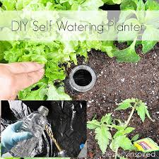 diy self watering planter cleverlyinspired 3