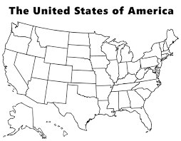 Small Picture Map of the USA coloring page plus many many more CC Cycle 3