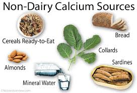 Calcium Rich Non Dairy Food Sources Deficiency Supplements