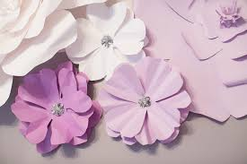 diy tutorial 3d paper flower 2