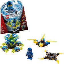 Amazon.com: LEGO NINJAGO Spinjitzu Jay 70660 Building Kit (97 Pieces)  (Discontinued by Manufacturer): Toys & Games