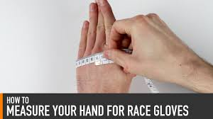 Driving Glove Size Chart Racing Glove Size Charts Driver61