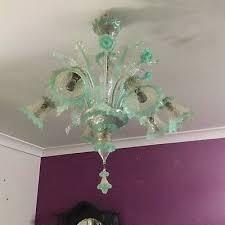 spectacular antique venetian glass chandeliers