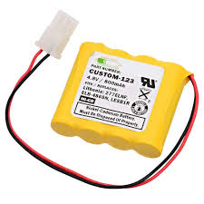 Lithonia Emergency Light Battery Replacement Emergency Light Battery For Lithonia Elb 4865n