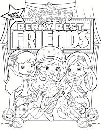 Fox Ss Berry Best Friends Coloring