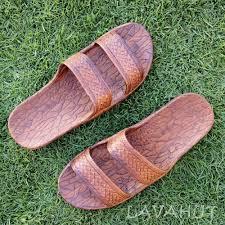 Light Brown Jandals Light Brown Classic Jandals Pali Hawaii Sandals