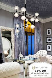 save on lighting. save on crystal lights from troy lighting now until september shop a