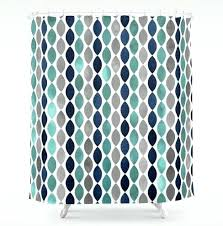 teal chevron shower curtains. Grey And Teal Shower Curtain Available In Four Designs Beautiful Modern Curtains . Chevron