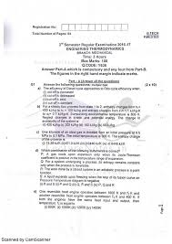 Exam Questions for Engineering Thermodynamics - ET - BPUT 2016 3rd ...