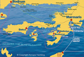 Image result for marmaris haritası