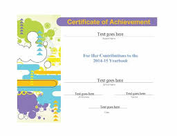 Student Of The Month Certificate Templates 40 Great Certificate Of Achievement Templates Free