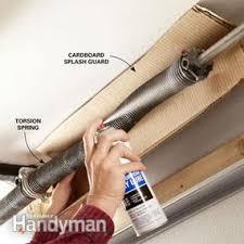 garage door lubeHow to Fix a Noisy Garage Door  Family Handyman