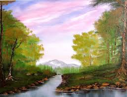 cze images simple nature paintings on canvas