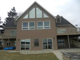 Exterior Remodel On Fisher Lake In Three Rivers MI - Exterior remodeling