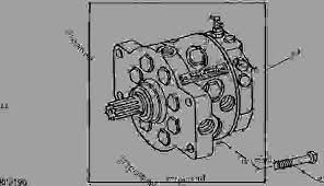 replacement hydraulic pump assembly 4040 013523 4240 029865 Список запчастей