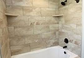 and finether tile brush combo awesome bathroom ideas shower tub pics wall patterns scrubber separate surround