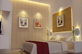 lighting awesome bedroom lighting design ideas of small recessed puck  lights also white faux leather double bed frame and clear glass cylinder  vase above ...