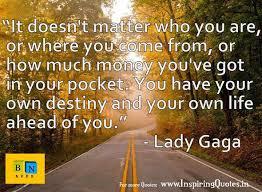 Lady Gaga Quotes Career | Inspiring Quotes, inspirational ...