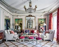 what appears to be a gilt framed mirror in timothy corrigan s paris apartment is actually a window aligned with two mirrors one in the living room and one
