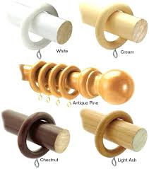 wooden curtain rods county poles by sdy and rings wooden curtain rods