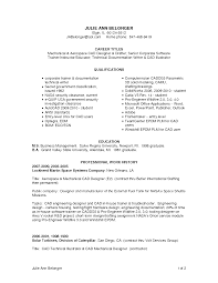 Cad Engineer Sample Resume 9 Autocad Designer Computer