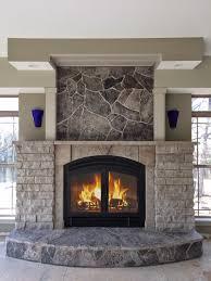 acucraft standard wood burning fireplace showcase
