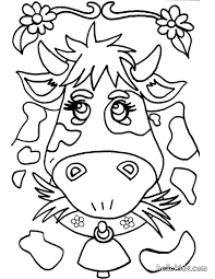 Small Picture Cow coloring pages Hellokidscom