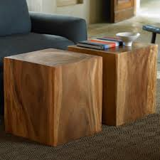 wooden cubes furniture. Convertible Wood Cubes - Set Of 2 Wooden Furniture
