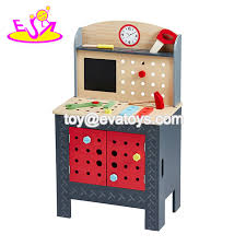 china new arrived educational play wooden boys work bench with multi function w03d094 china work bench baby work bench