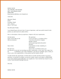 Salary Expectations Email Example Cover Letter Samples