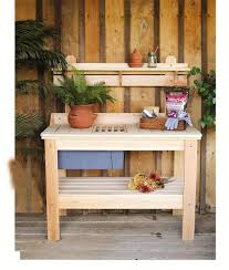 ask us a question amish cypress outdoor potting table