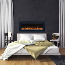 wall mount electric fireplaces. BETTER: Allure Series Wall Mount Electric Fireplaces A